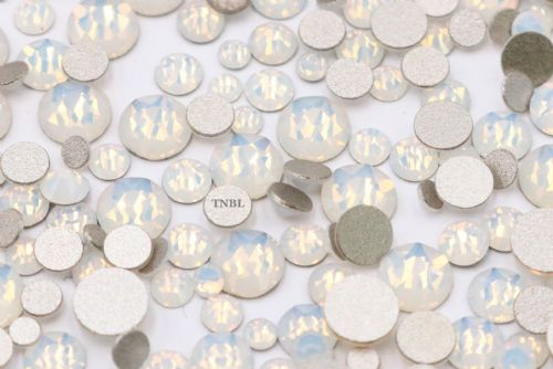 Swarovski Crystals White Opal (234) Rhinestone Gems Article 2058 - Mixed Pack 400pcs